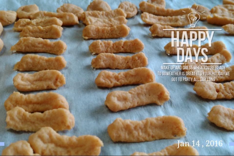【狗食譜】自製豆腐米餅乾,15分鐘就搞定!