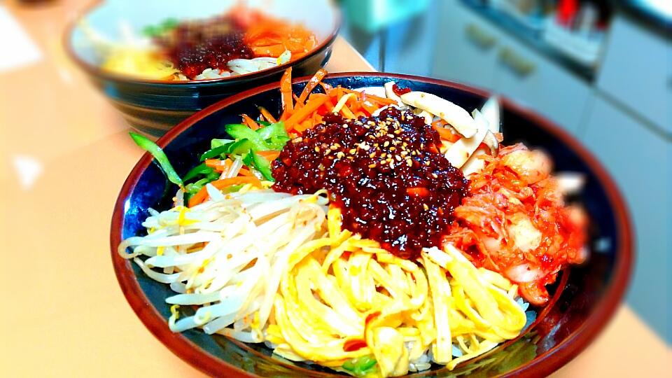 【食譜】原來韓式拌飯這麼簡單!