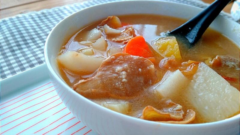 【食譜】 山藥麻油薑湯+麻油蔬菜燴飯