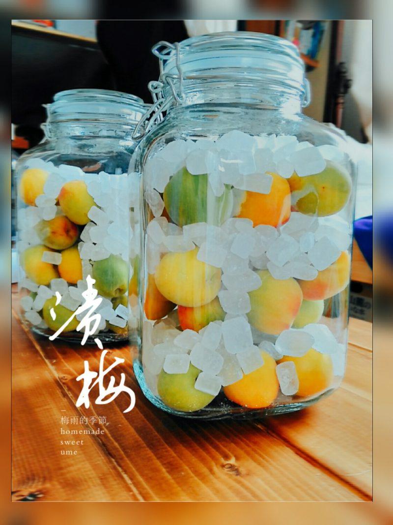 【食譜】梅雨季,自製糖漬梅子!