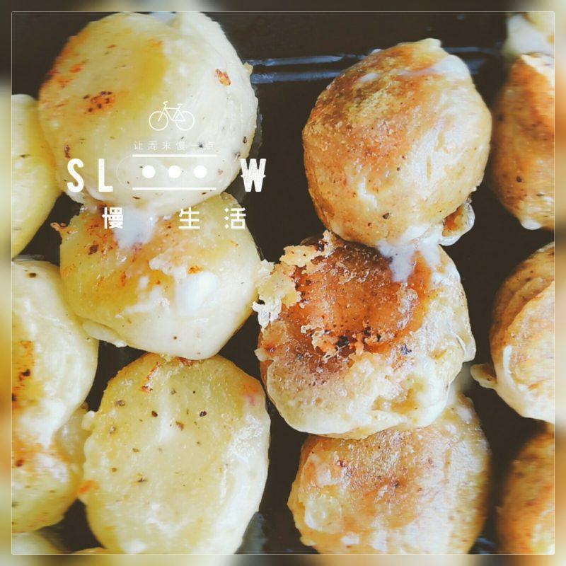 【食譜】 平底鍋料理起司馬鈴薯球,派對點心、小朋友也能一起動手做的簡易料理!