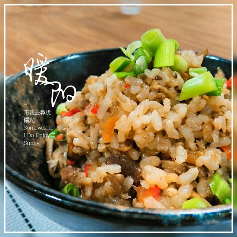 【食譜】牛蒡雞肉炊飯,日式家庭料理。健康飲食,用電鍋簡單做炊飯。