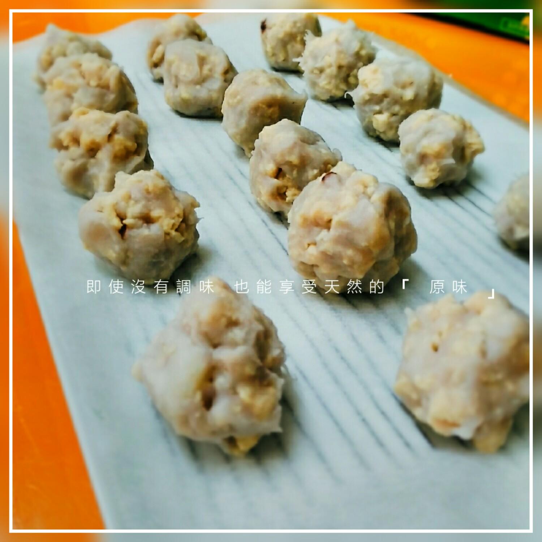 【食譜】芋泥雞肉丸,在家簡單自製小朋友副食品和狗狗鮮食,無添加手作最安心!