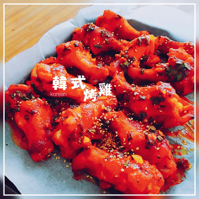 【食譜】韓式辣醬烤雞,日式鹽麴與韓式辣醬聯手出擊,軟嫩、多汁、入味一次全壘打!